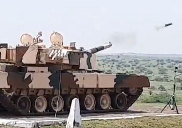 ATGM firing