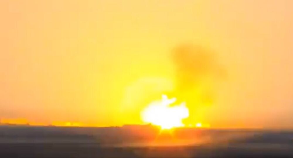 New video of the destruction of Azerbaijani helicopter