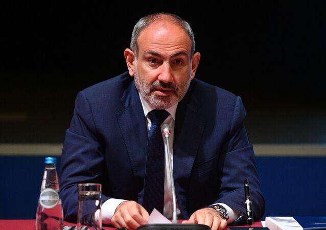 Armenian Prime Minister Nikol Pashinyan (File)