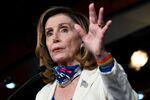 U.S. House Speaker Nancy Pelosi participates in a news conference at the U.S. Capitol in Washington, U.S. October 1, 2020.