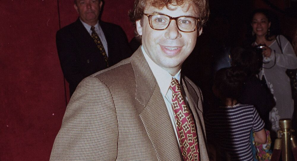 In this May 1994 file photo, actor Rick Moranis is shown at an unknown location.  A law enforcement official tells the Associated Press that Moranis was sucker punched by an unknown assailant while walking Thursday, Oct. 1, 2020, on a sidewalk near New York's Central Park