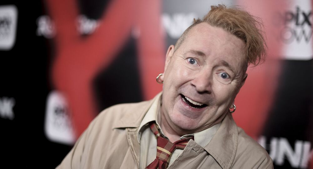 John Lydon attends the LA premiere of Punk at SIR on Monday, March. 4, 2019, in Los Angeles.