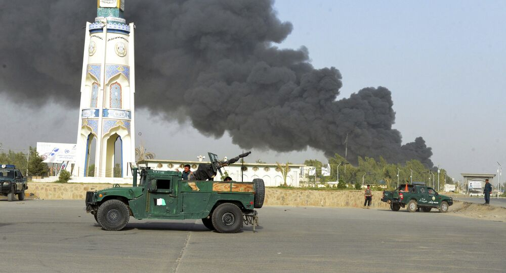 Seven killed in explosion outside police office in W. Afghanistan