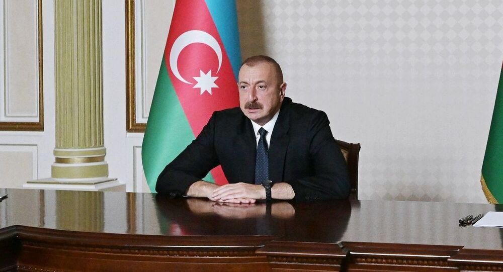 Azerbaijani President Ilham Aliyev. File photo.