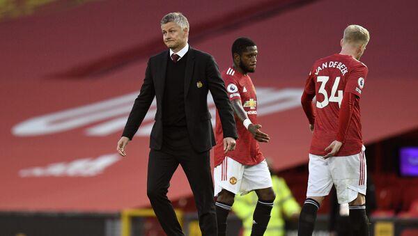 Manchester United manager Ole Gunnar Solskjaer after the 6-1 defeat to Spurs - Sputnik International