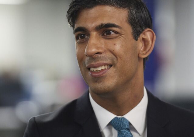 Britain's Chancellor of the Exchequer Rishi Sunak, pictured on 5 October 2020.