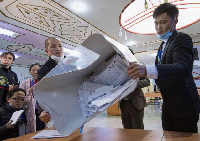 Parliamentary elections in Kyrgyzstan