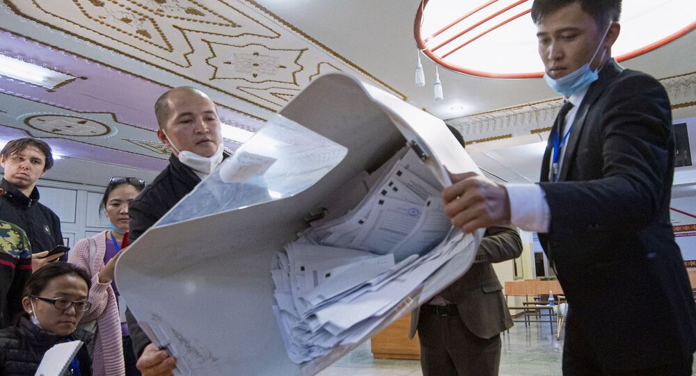 Power vacuum in Kyrgyzstan after government falls apart after protests