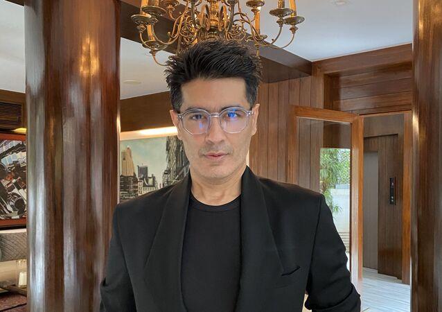 Fashion designer Manish Malhotra