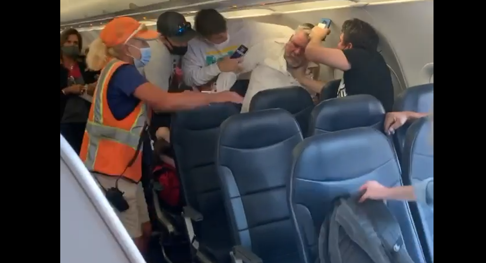 This happened on my flight earlier today. Allegiant flight from Mesa-Phoenix to Provo, UT. I will be posting the story and what happened next!
