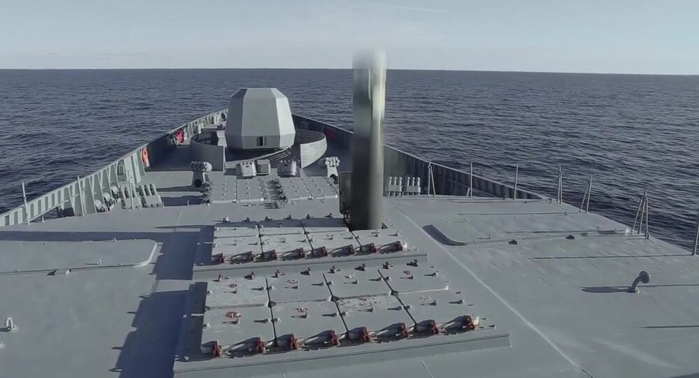 Test of the Zircon hypersonic missile