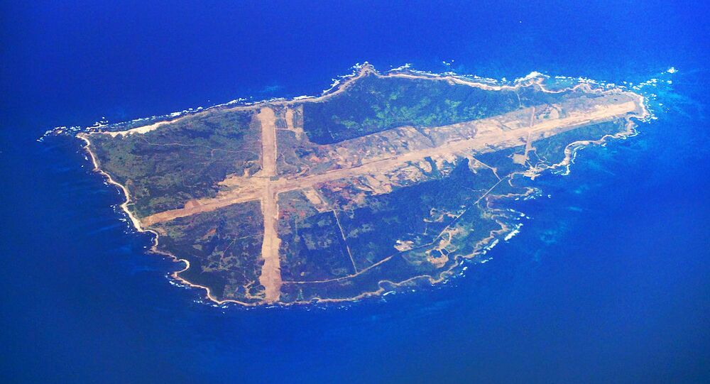 Mageshima Island in Nishinoomote, Kagoshima Prefecture. Mage Island is one of the locations under consideration for relocating US field carrier landing practice facility (FCLP)