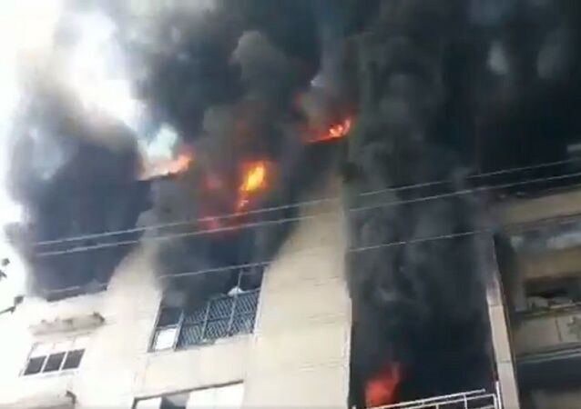 A massive fire has been reported from DSIDC Narela in shoe factory