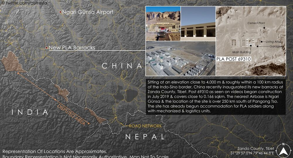 Part of China's developing military infrastructure network in Tibet, the PLA recently inaugurated new barracks near the India China Nepal junction, looking to boost border defense the facility sits roughly 100 km from the Indo-Sino border & has begun accommodation