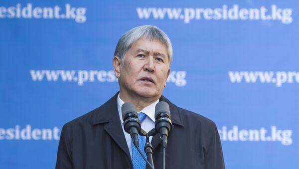 Former Kyrgyz President Almazbek Atambayev - Sputnik International