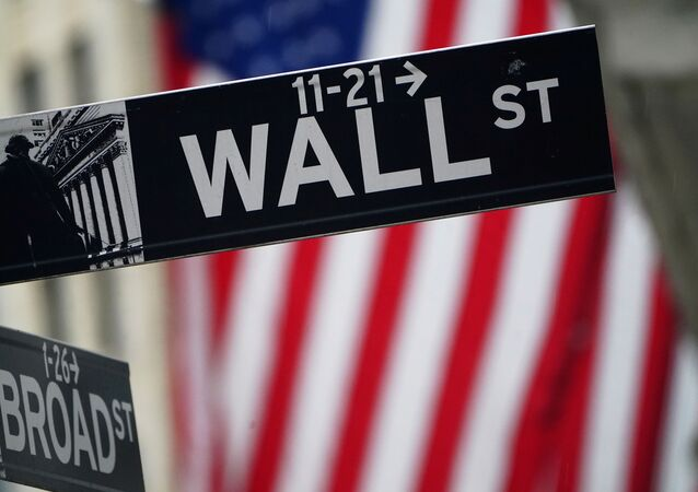A Wall Street sign is pictured outside the New York Stock Exchange in the Manhattan borough of New York City, New York, U.S., October 2, 2020.