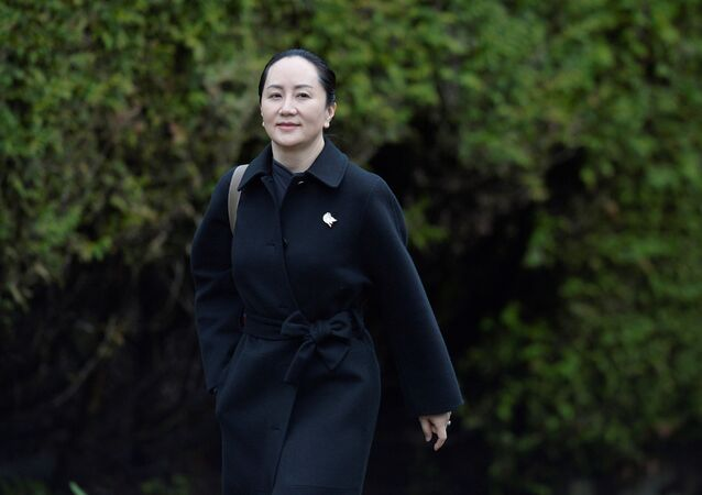 Huawei Chief Financial Officer Meng Wanzhou leaves her home to attend her extradition hearing at B.C. Supreme Court in Vancouver, British Columbia, Canada January 22, 2020.