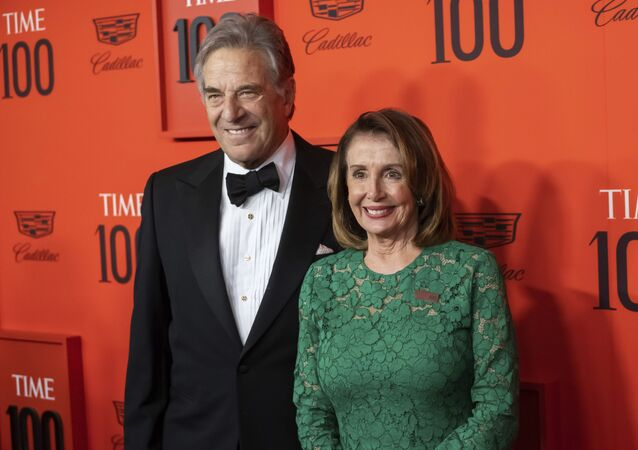 Paul Pelosi and Nancy Pelosi attend the 2019 Time 100 Gala, celebrating the 100 most influential people in the world, at Frederick P. Rose Hall, Jazz at Lincoln Center on Tuesday, April 23, 2019, in New York