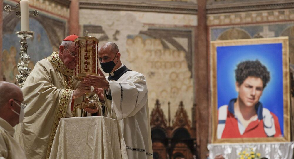 Pope: 'Blessed Carlo Acutis a witness of Christ for younger generations'