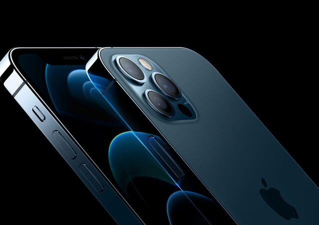 Apple's iPhone 12 Pro and iPhone 12 Pro Max are seen in an illustration released in Cupertino, California, U.S. October 13, 2020.