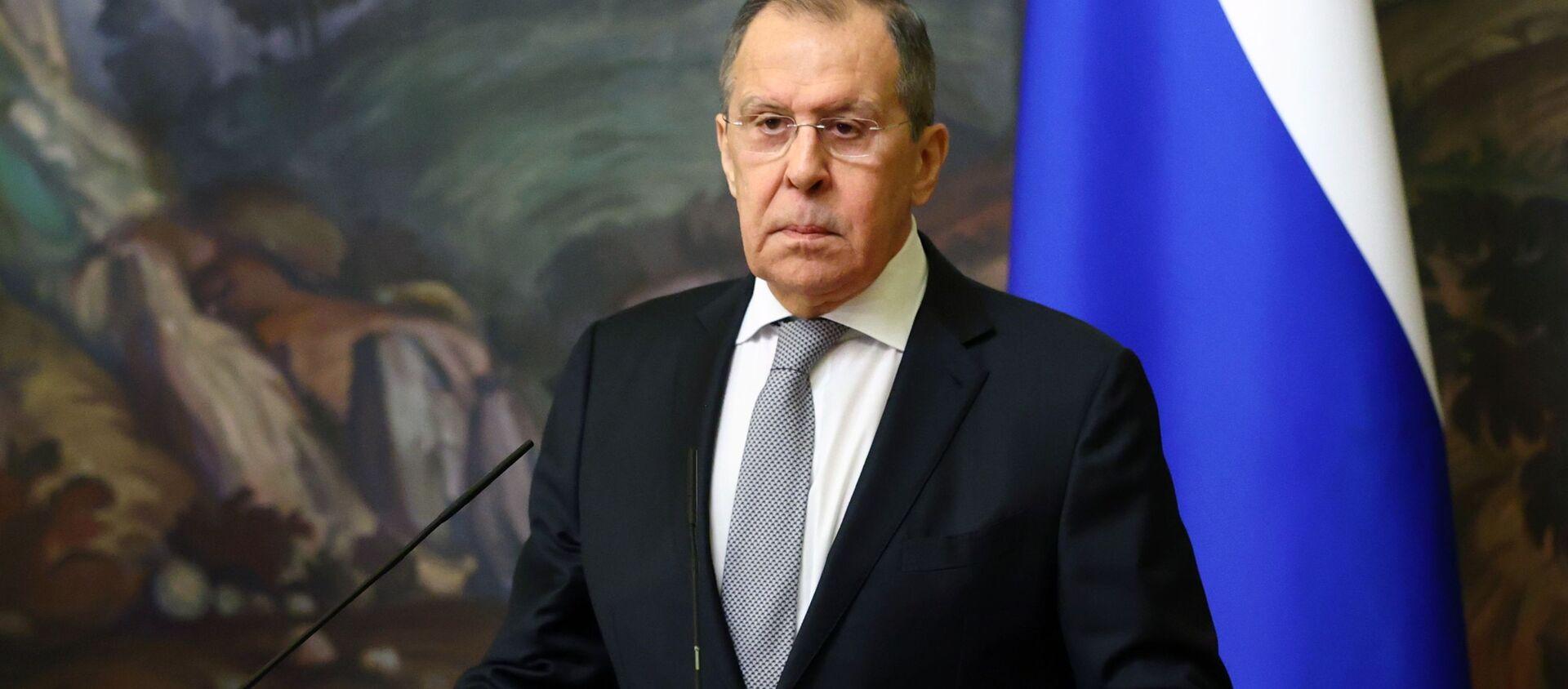 Russian Foreign Minister Sergey Lavrov  - Sputnik International, 1920, 28.04.2021