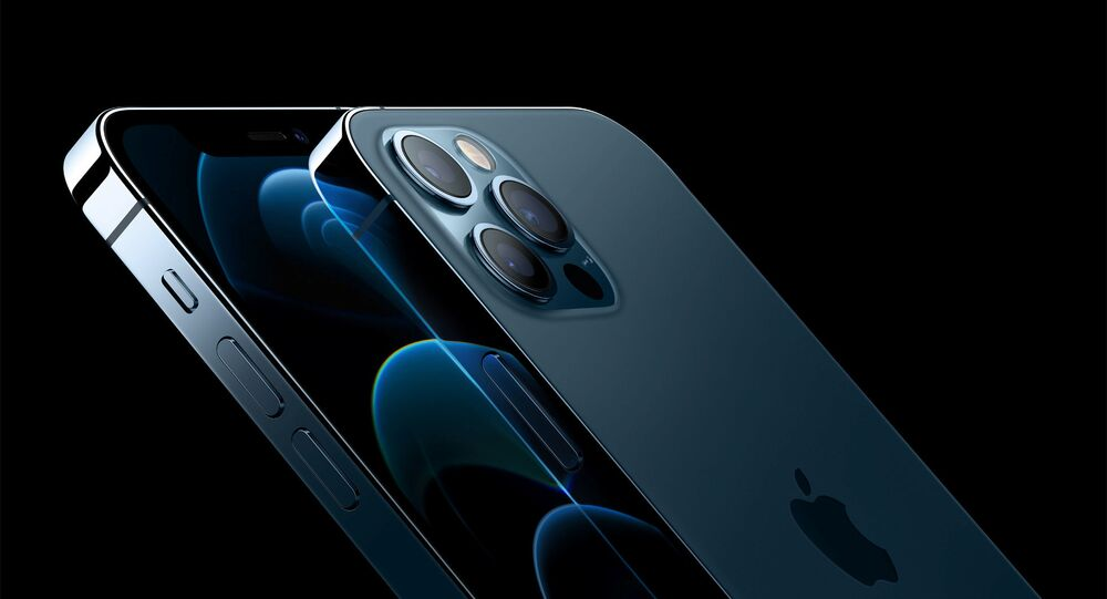 Apple's iPhone 12 Pro and iPhone 12 Pro Max are seen in an illustration released in Cupertino, California, U.S. October 13, 2020