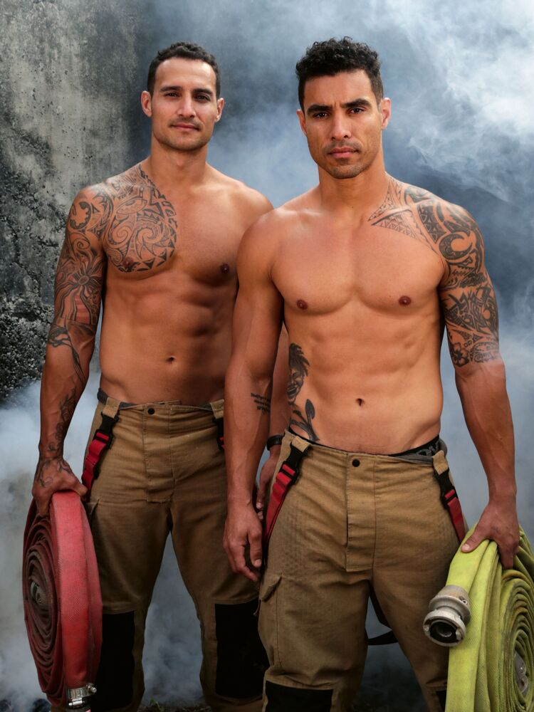 Firefighters calendar will make you wish it was already