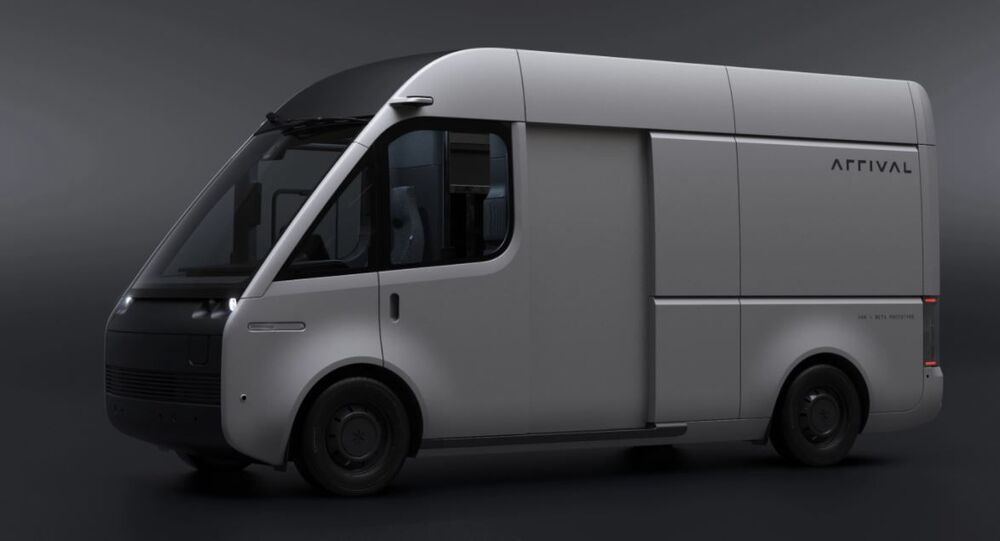 Arrival's electric van, which is being trialled by the Royal Mail, UPS and DHL.
