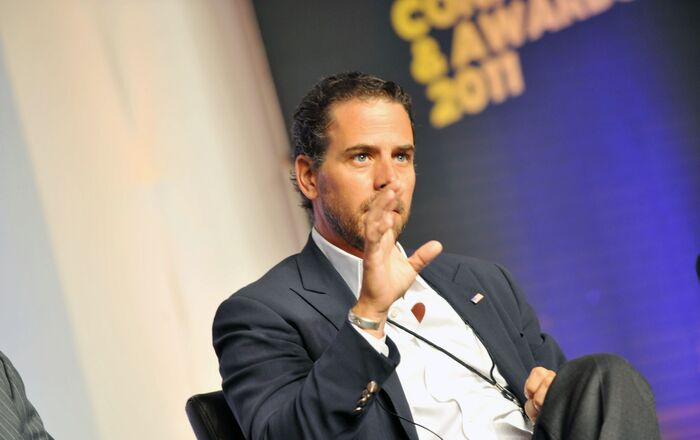 Hunter Biden attends Usher's New Look Foundation - World Leadership Conference & Awards 2011 - Day 3 at Cobb Energy Center on 22 July 2011 in Atlanta, Georgia.   Moses Robinson/Getty Images for Usher's New Look Foundation/AFP