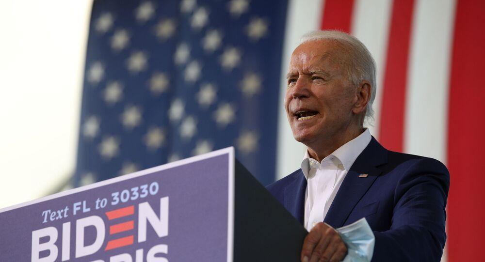 Democratic presidential candidate Joe Biden campaigns in Florida