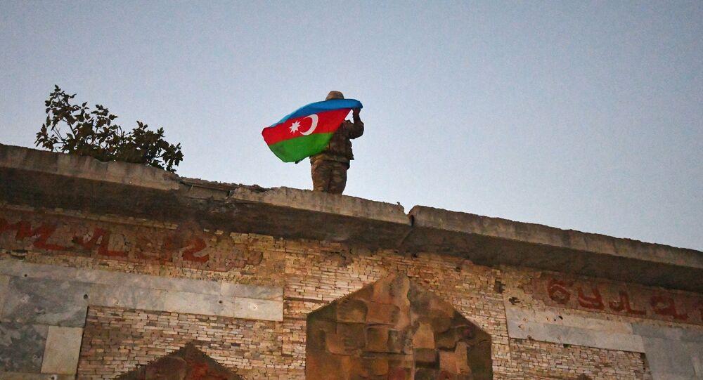 Azerbaijani military man