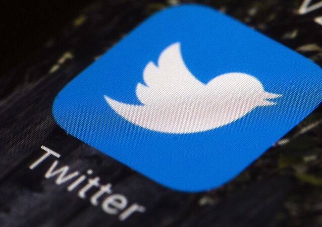 This April 26, 2017, file photo shows the Twitter app icon on a mobile phone in Philadelphia. A tech-focused civil liberties group on Tuesday, June 2, 2020, sued to block President Donald Trump's executive order that seeks to regulate social media, saying it violates the First Amendment and chills speech