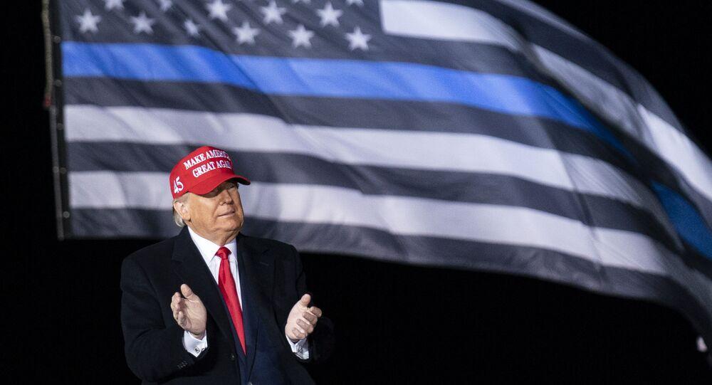 Second Trump-Biden Debate To Feature A 'Mute' Button, Organizers Say
