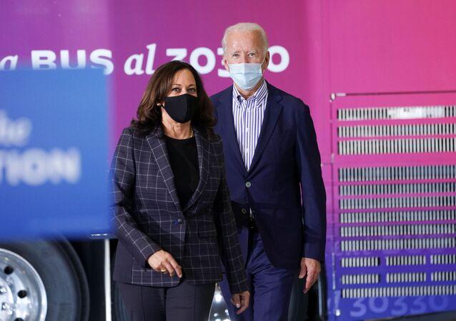 U.S. Democratic presidential candidate Joe Biden campaigns in Phoenix, Arizona