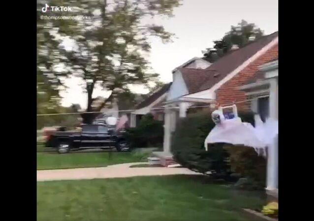 Social-Distance Trick-or-Treating
