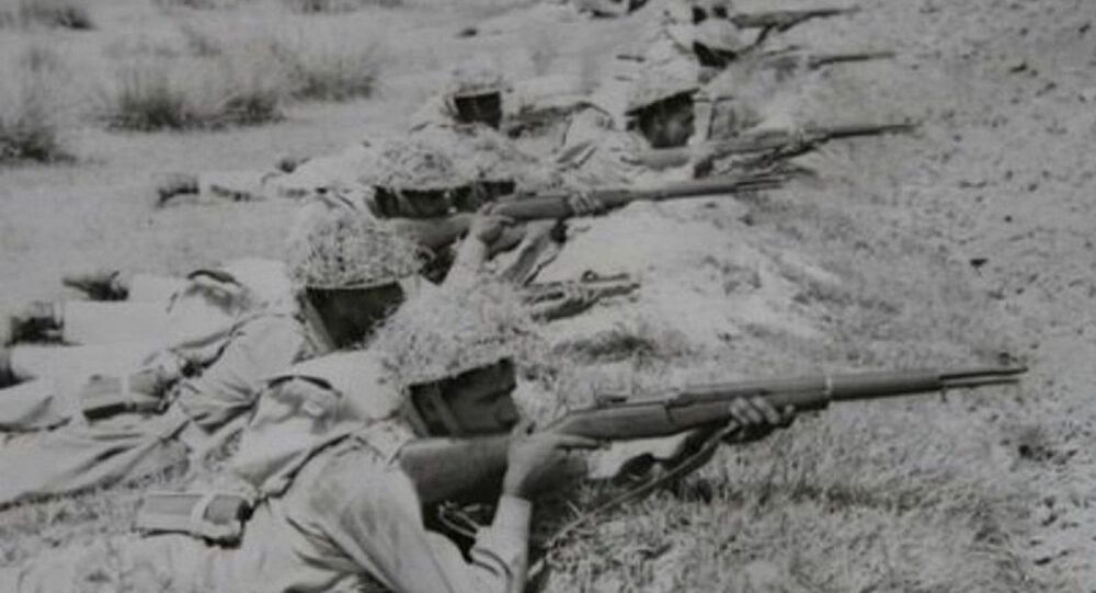 Pakistani soldiers during the 1947–1948 war