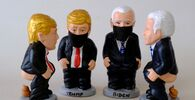 Caught With Pants Down? Pooping Trump, Biden Figurines Made in Catalonia