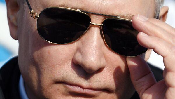 Рабочая поездка президента РФ В. Путина в Красноярск. День второй - Sputnik International