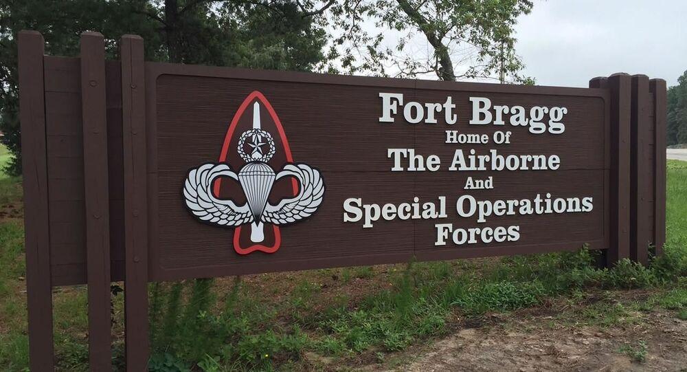 Fort Bragg, North Carolina.