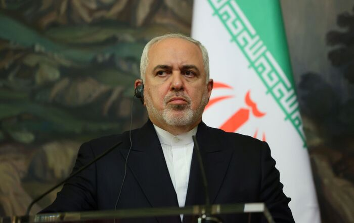 Iran's Foreign Minister Mohammad Javad Zarif attends a news conference following a meeting with Russia's Foreign Minister Sergei Lavrov in Moscow, Russia September 24, 2020