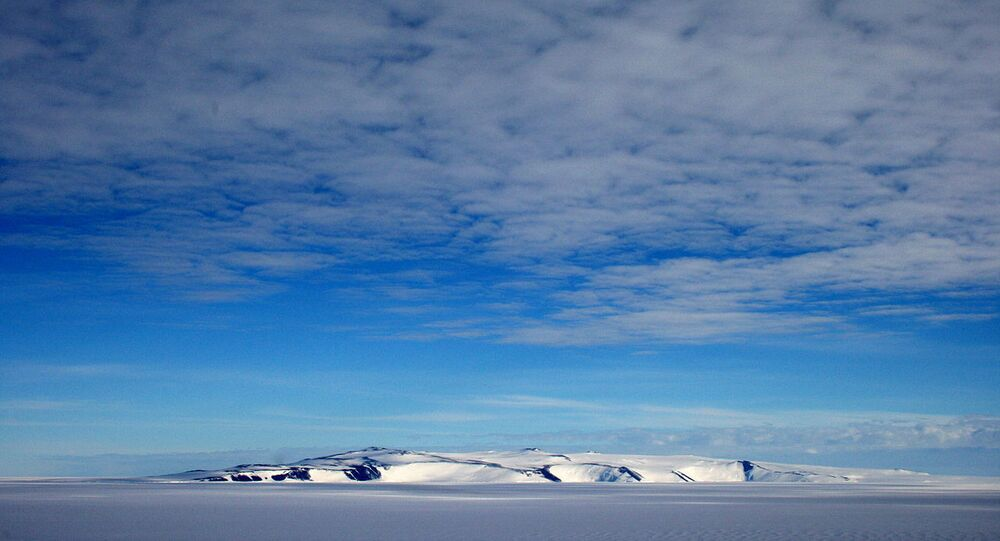 Antarctica, White Island