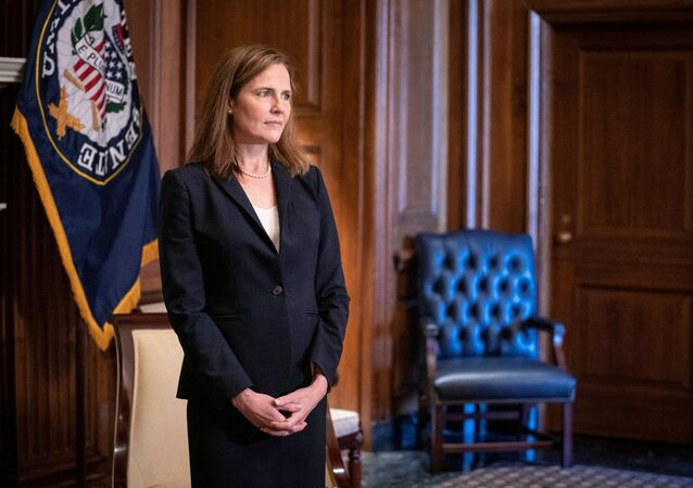 Judge Amy Coney Barrett, President Donald Trump's nominee for the Supreme Court of the United States