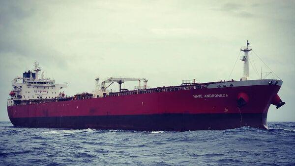 oil tanker Nave Andromeda - Sputnik International