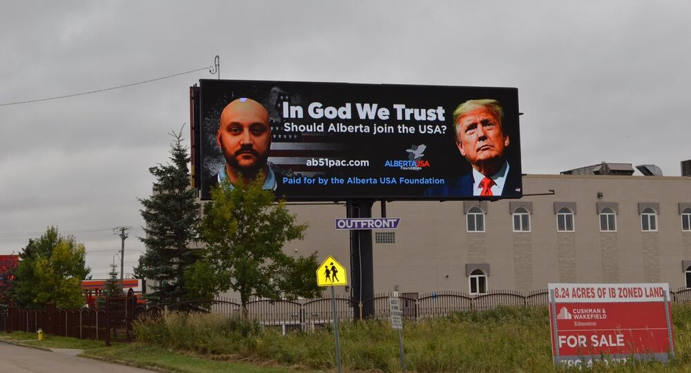 Alberta USA Foundation billboard