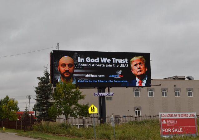 Alberta USA Foundation billboard