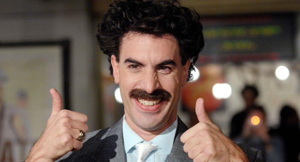 Sacha Baron Cohen shares terrifying Borat 2 behind the scenes footage