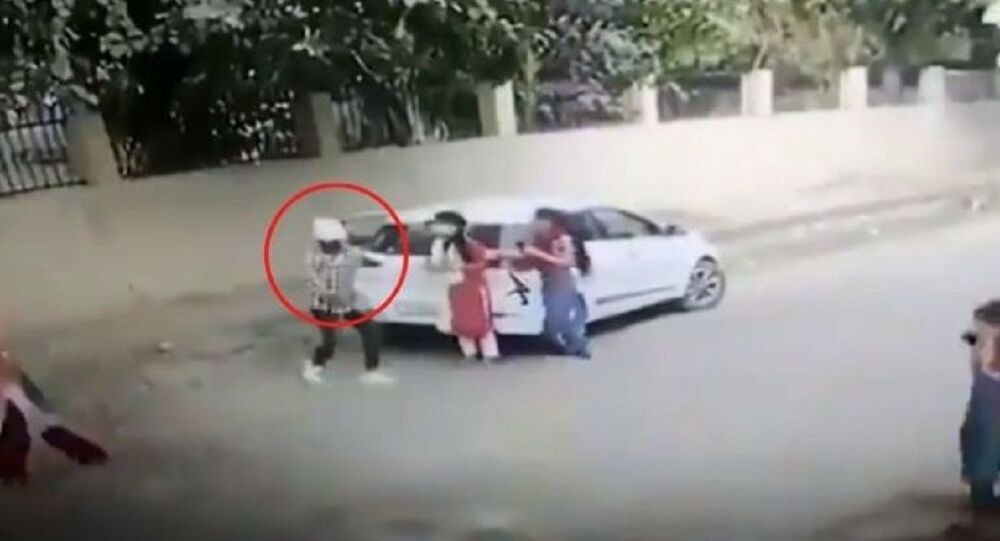 21-year-old student named Nikita Tomar was shot dead in broad daylight by two men outside the Aggarwal college in Ballabgarh, Faridabad