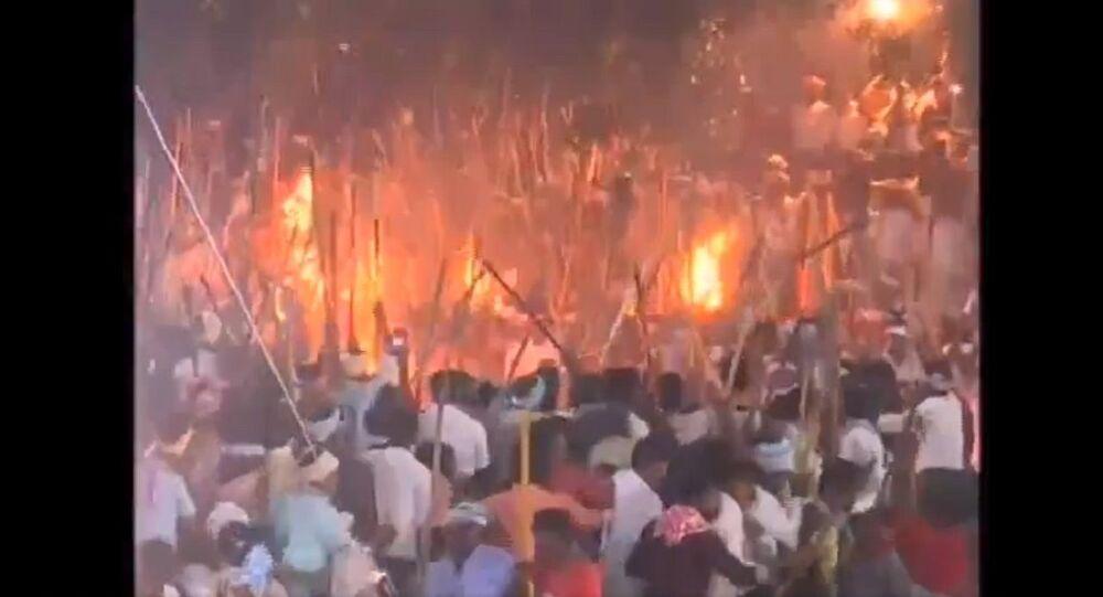 Banni festival/stick fight festival held in Devaragattu of Kurnool, several injured