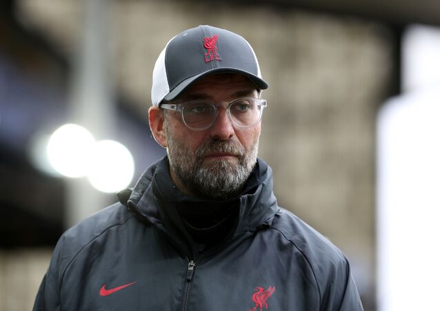 Soccer Football - Premier League - Everton v Liverpool - Goodison Park, Liverpool, Britain - October 17, 2020  Liverpool manager Juergen Klopp