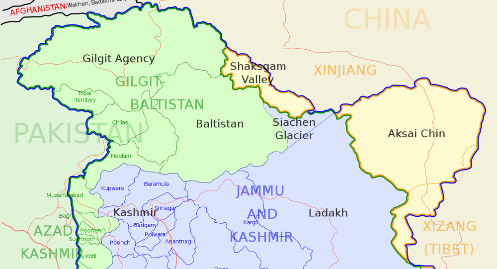 Locator map for the state of w:Jammu and Kashmir